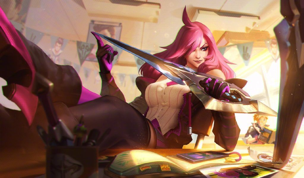 Battle Academia Katarina, League of Legends, Katarina