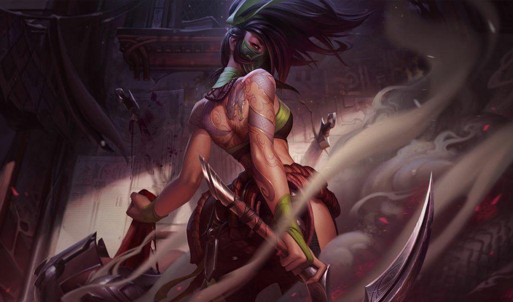 Wild Rift, League of Legends, Akali