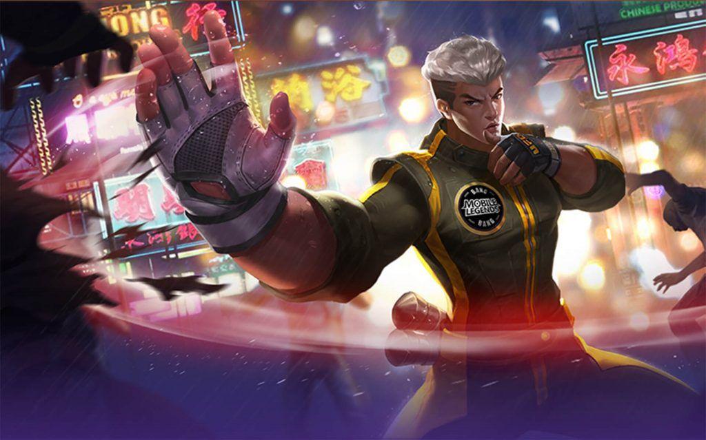 Mobile legends: bang bang hero, chou