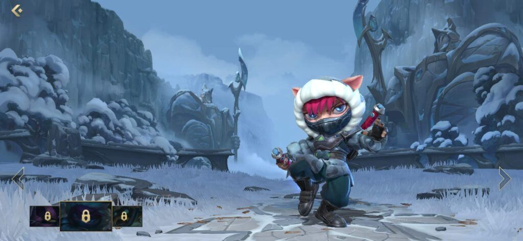 League of Legends: Wild Rift, Kennen, Arctic Ops Kenne skin