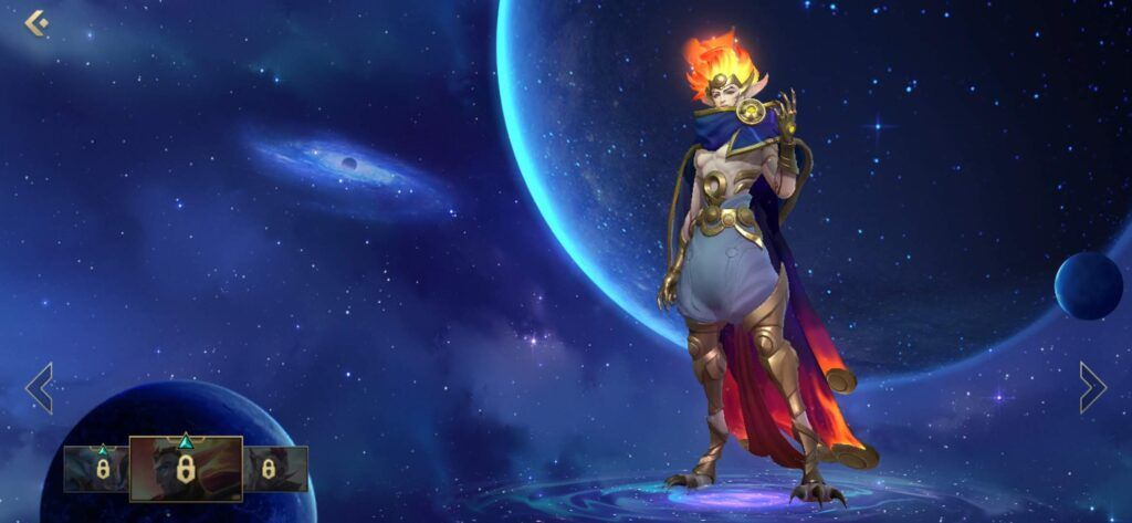 League of Legends: Wild Rift, Rakan, Cosmic Dawn Rakan skin