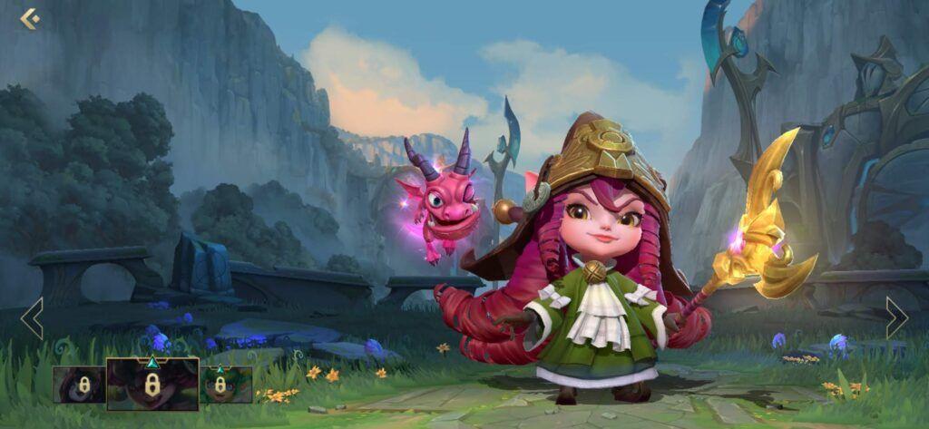 League of Legends: Wild Rift, Lulu, Dragon Trainer Lulu skin