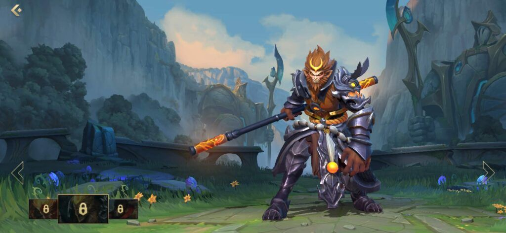 League of Legends: Wild Rift,Wukong, General Wukong skin