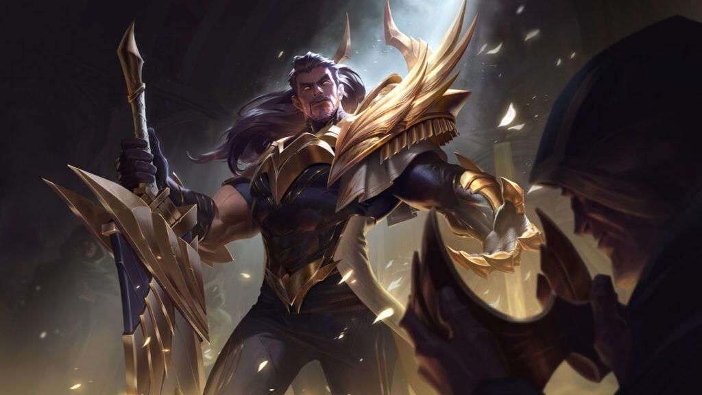 League of Legends: Wild Rift, Glorious Tryndamere skin