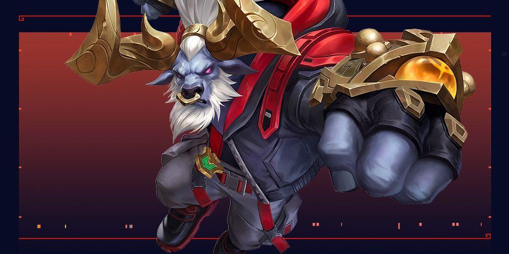 League of Legends: Wild Rift, Lunar Beast Alistar skin