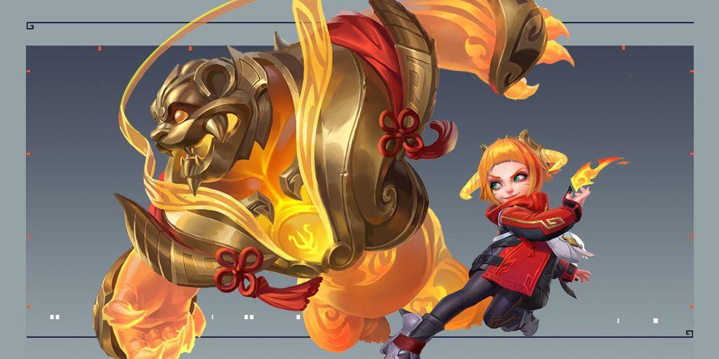 League of Legends: Wild Rift, Lunar Beast Annie skin