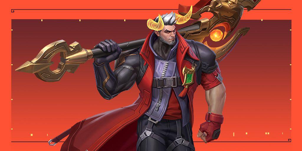 League of Legends: Wild Rift, Lunar Beast Darius skin