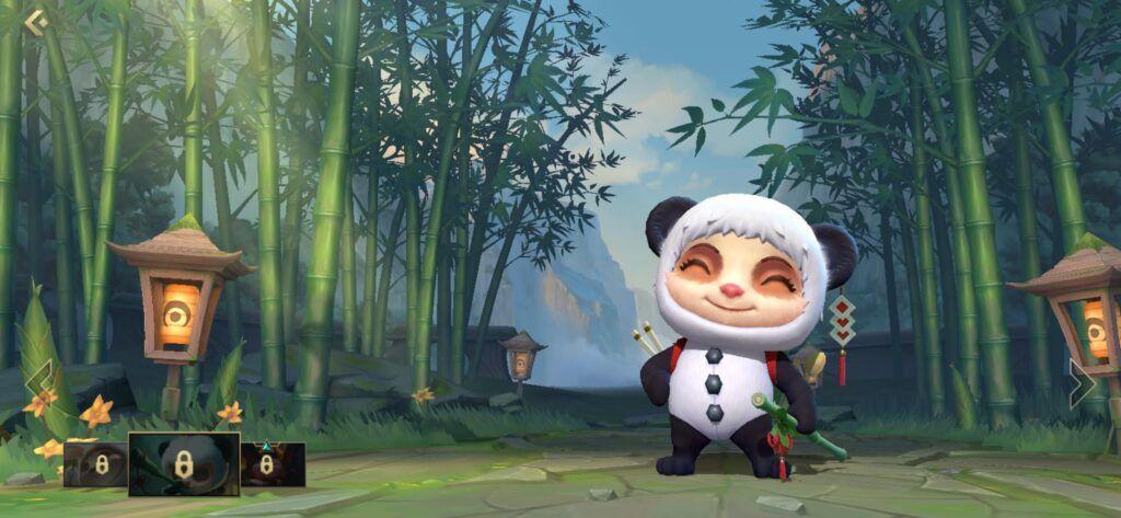 League of Legends: Wild Rift, Teemo, Panda Teemo
