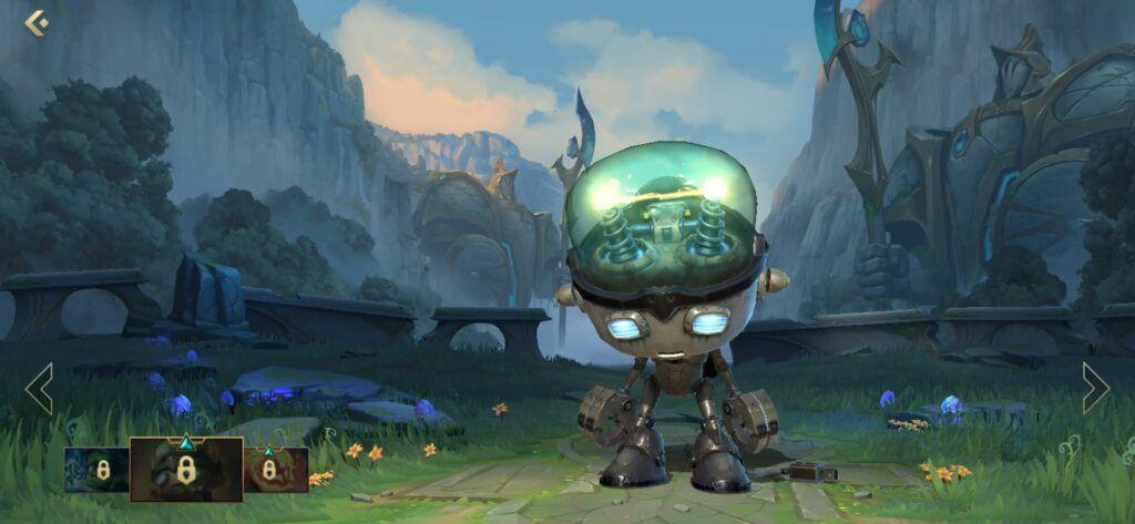 League of Legends: Wild Rift, Amumu, Sad Robot Amumu skin