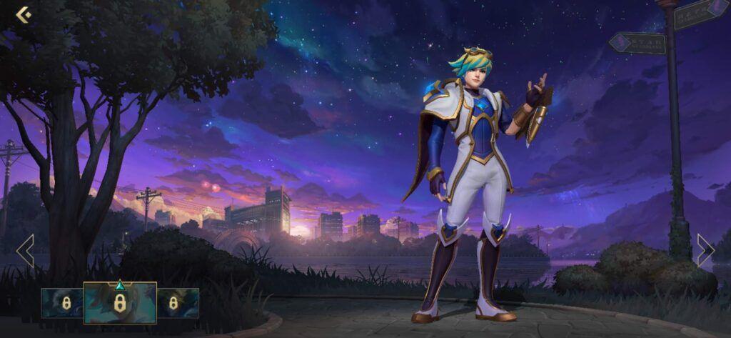 League of Legends: Wild Rift, Star Guardian Ezreal skin