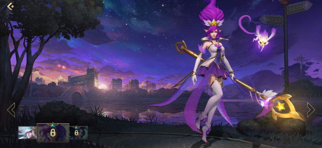 League of Legends: Wild Rift, Star Guardian Janna skin