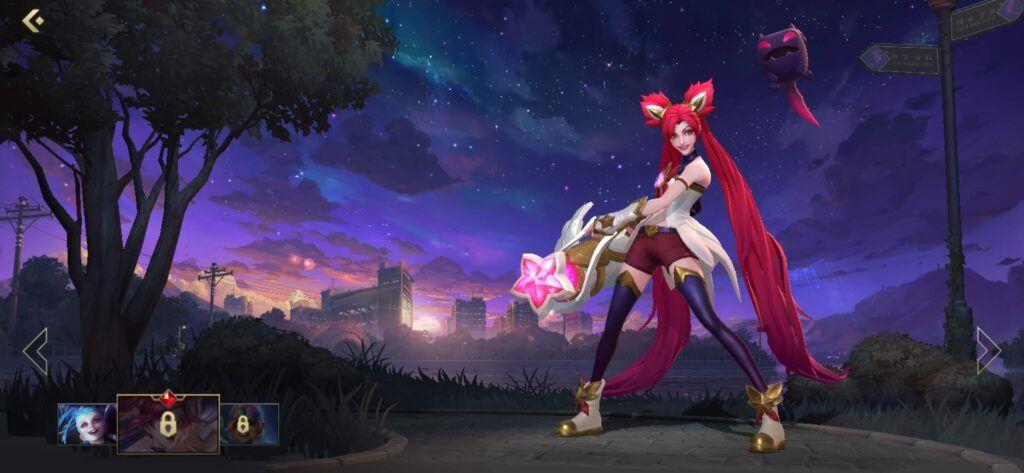 League of Legends: Wild Rift, Star Guardian Jinx skin
