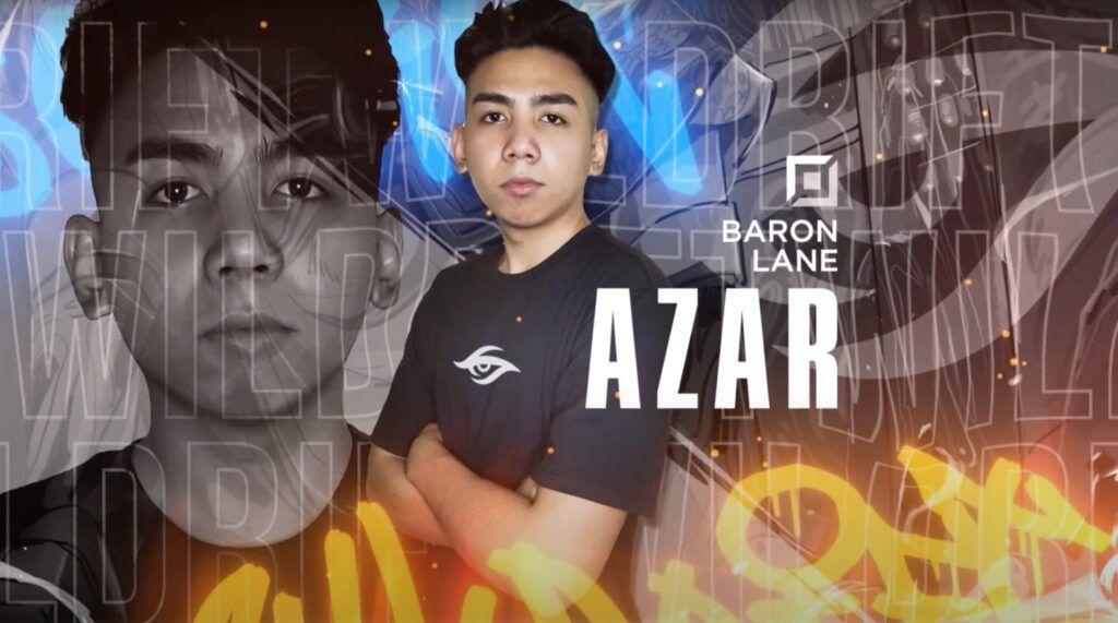 Wild Rift, Team Secret, Azar, Baron lane