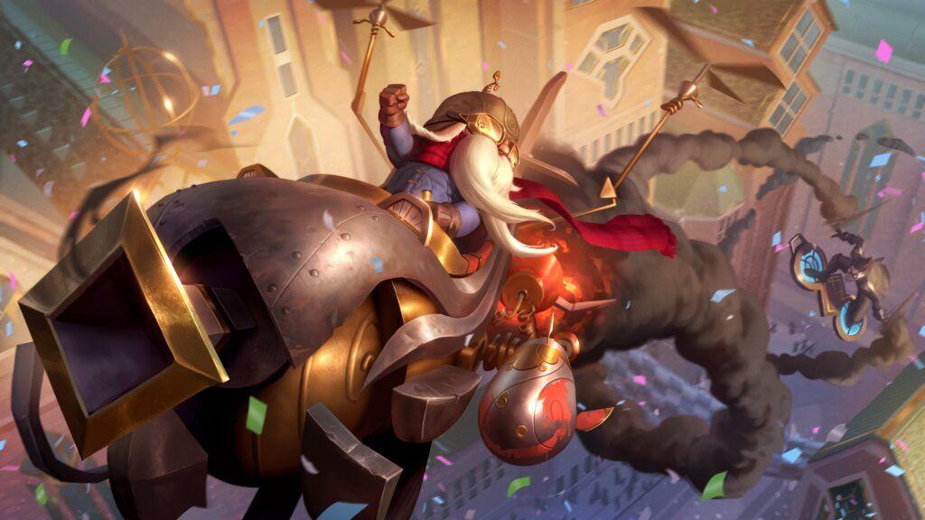 League of Legends: Wild Rift, Urfrider Corki skin