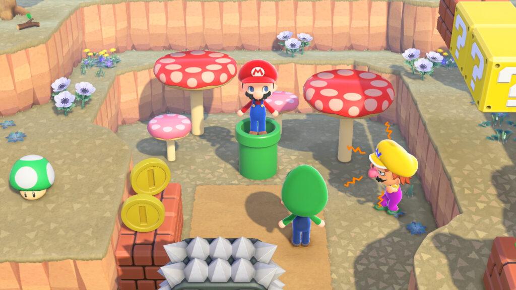 Animal Crossing: New Horizons, Super Mario Bros.