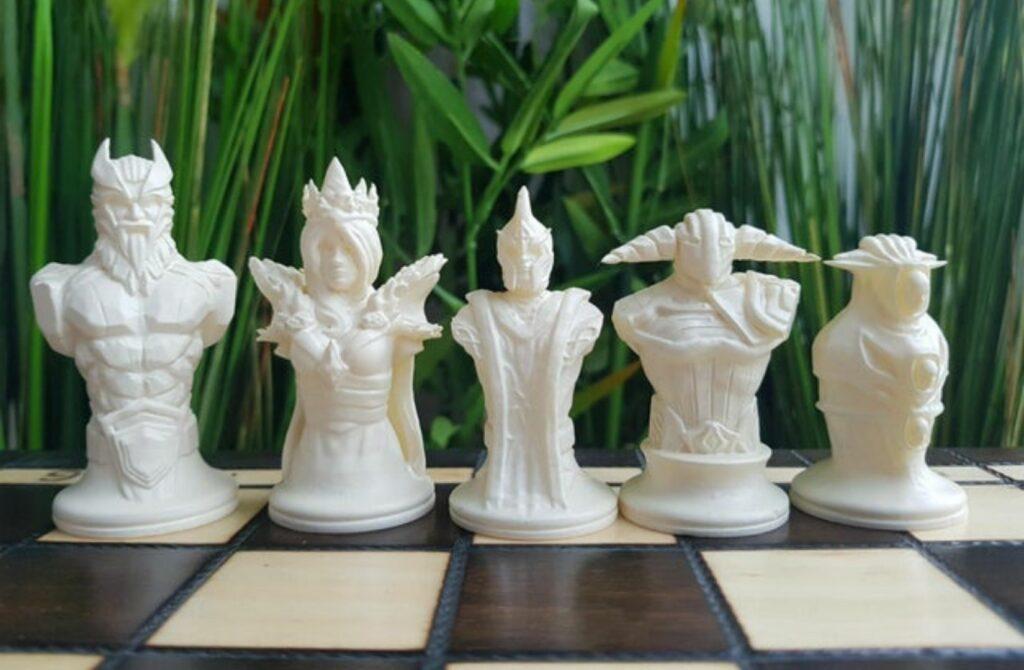 Dota 2, Chess, Chess set
