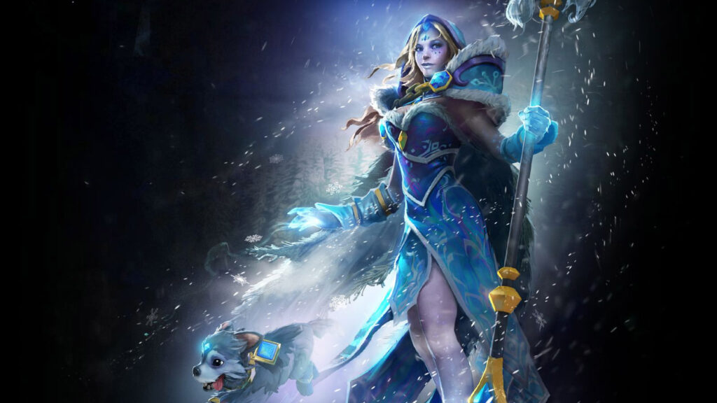 Dota 2, Crystal Maiden, Frost Avalanche Set