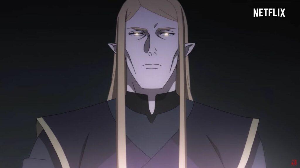 Invoker in the Dota: Dragon's Blood Netflix trailer