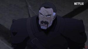 Kaden in the Dota: Dragon's Blood Netflix trailer