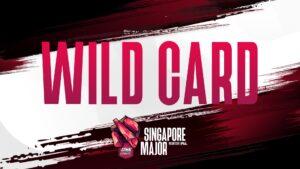 ONE Esports Singapore Major Wild Card