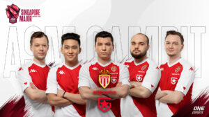 AS Monaco Gambit Dota 2 roster for ONE Esports Singapore Major