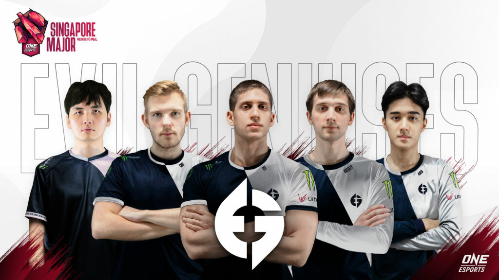 Evil Geniuses at the ONE Esports Singapore Major