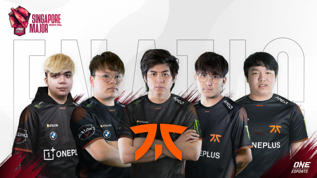 Fnatic at the ONE Esports Singapore Major