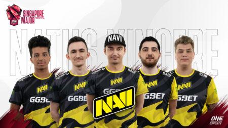 Natus Vincere full Dota 2 roster for ONE Esports Singapore Major