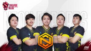 OB Esports x Neon at the ONE Esports Singapore Major