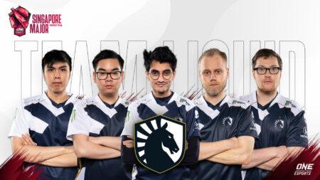 Team Liquid at the ONE Esports Singapore Major