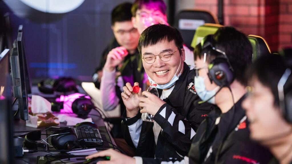 Vici Gaming at the DPC 2021 China upper division