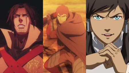 Screenshots of Legend of Korra, Castlevania, and Dota: Dragon's Blood