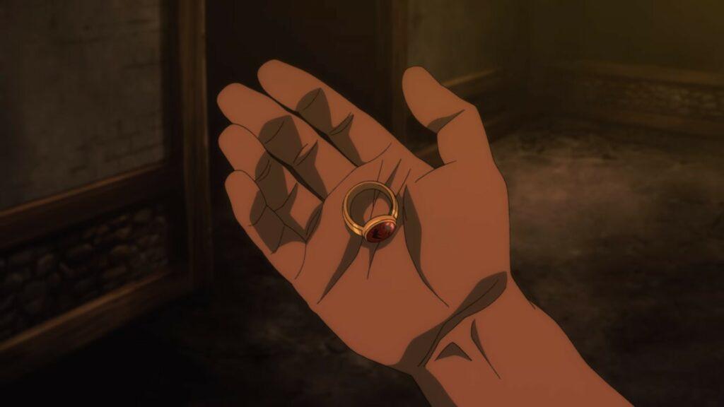Screenshot of Ring of Regen in Dota Dragon's Blood