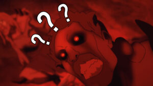 Screenshot of SirActionSlacks zombie with question marks in Dota: Dragon's Blood