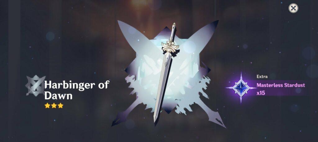Genshin Impact, Harbinger of Dawn