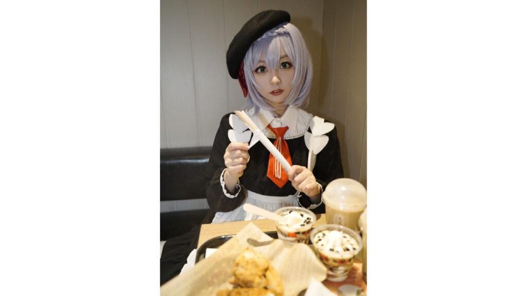 Genshin Impact, KFC, Noelle cosplay, 小稚稚稚酱