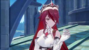 Screenshot of Rosaria in Character Demo trailer