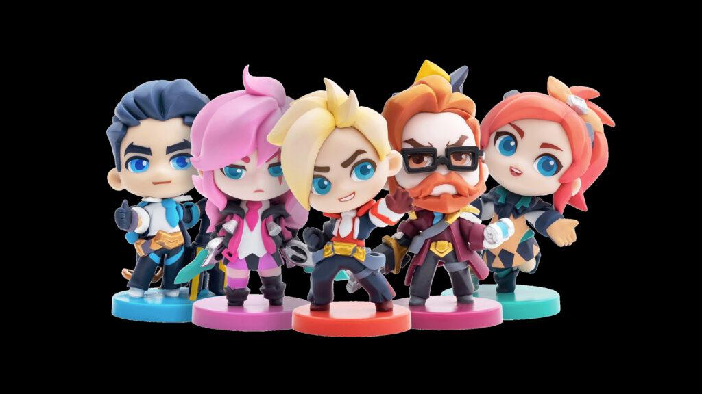 Battle Academia Minis Set