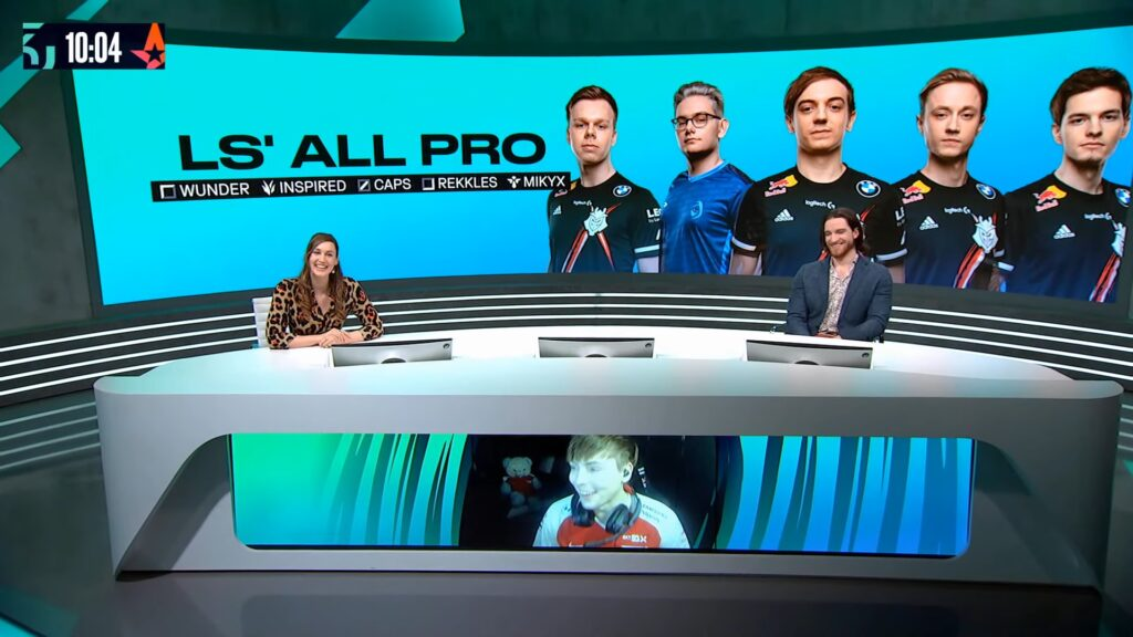LS reveals his all pro team for LEC Spring 2021