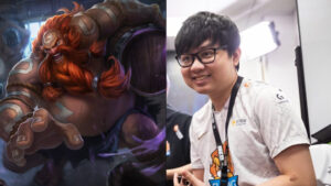 League of Legends champion Gragas, and Suning jungler SofM