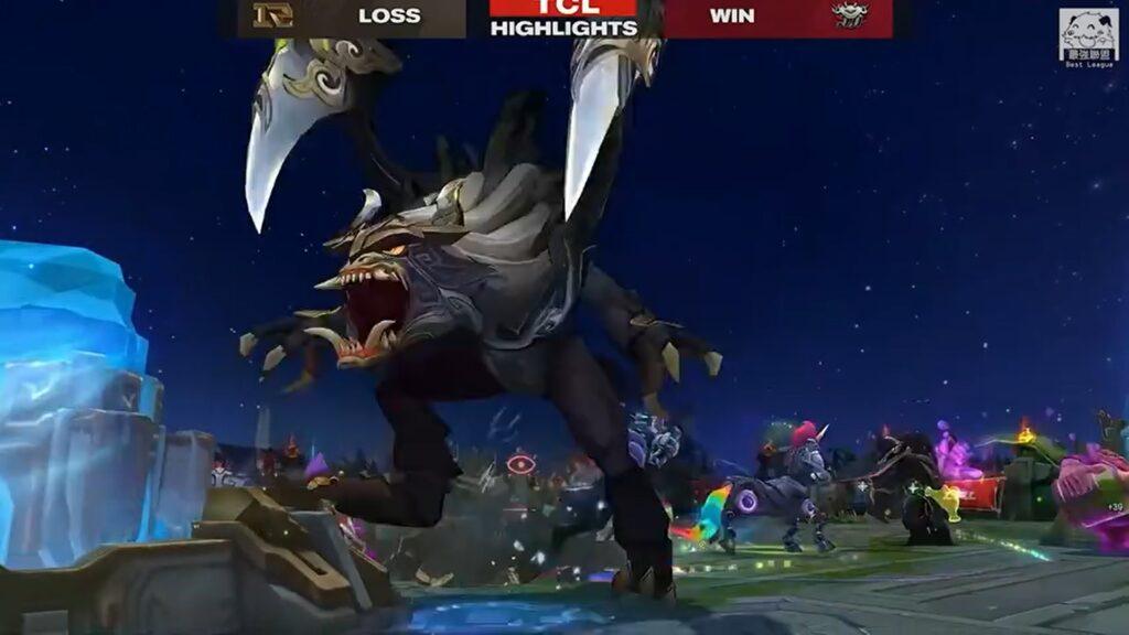 JDG Zoom's large Cho'Gath in RNG vs JDG series