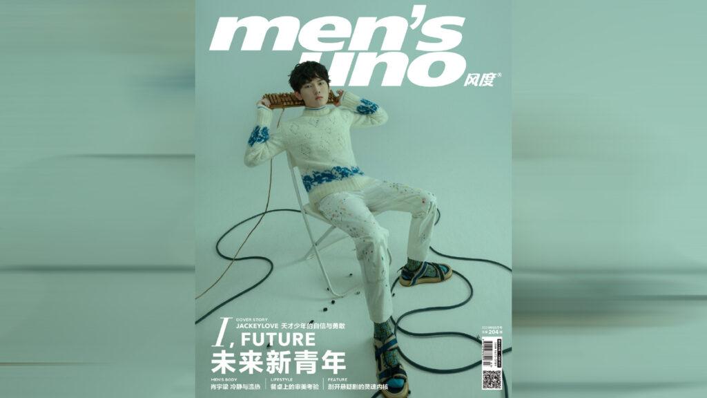 Top Esports JackeyLove in Men's Uno fashion magazine