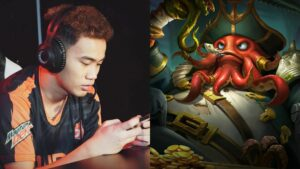 Mobile Legends: Bang Bang Aura PH player Bennyqt with hero, Bane