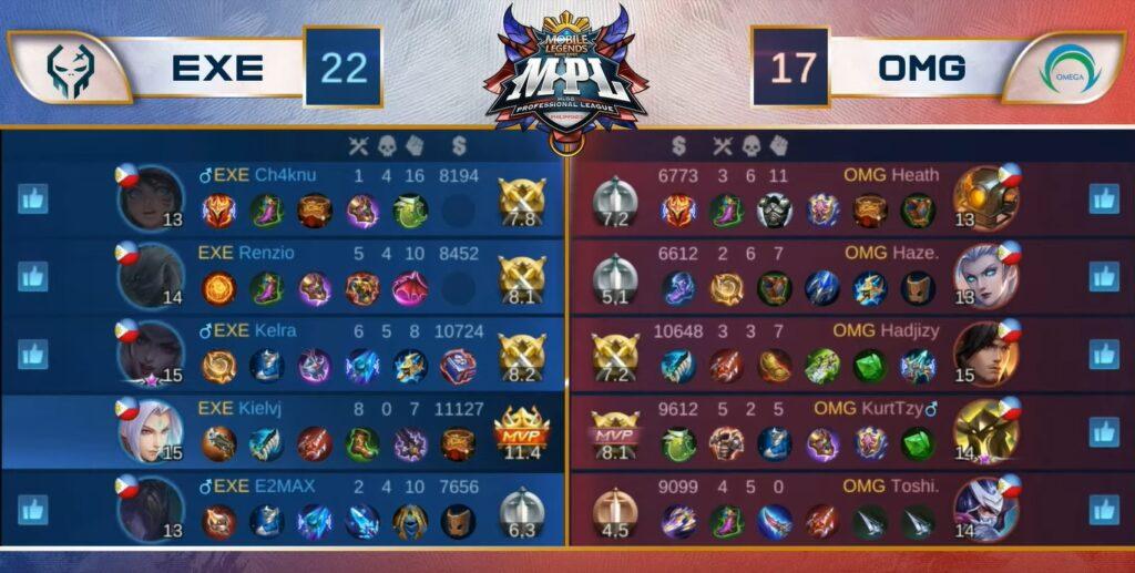 Mobile Legends: Bang Bang MPL PH S7, Execration vs Omega Esports W1D1 Game 2