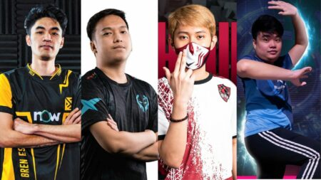 Mobile Legends: Bang Bang MPL PH Season 7, Bren Esports' Lusty, Execration's E2max. Work Auster Force's Chuu, Blacklist International's Eson