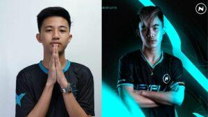 Mobile Legends: Bang Bang MPL PH Season 7 players, Nexplay Solid's Renejay and Execration's Kelra