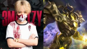 Mobile Legends: Bang Bang Work Auster Force player, 3marTzy and hero, Uranus