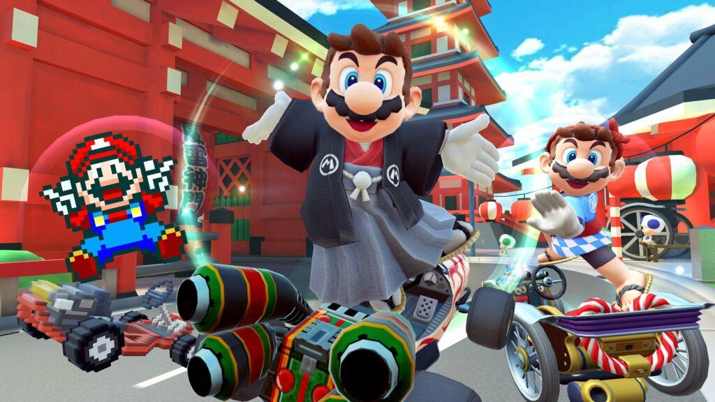 Mario Kart Tour, Mario Tour