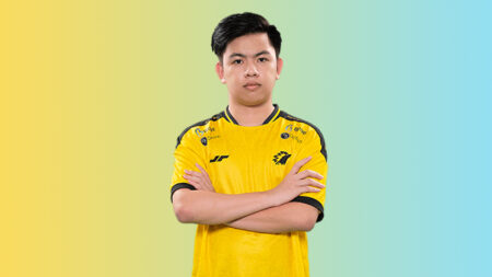 Player Photo of Drian during MPL ID S7