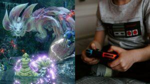 Monster hunter: rise, nintendo switch
